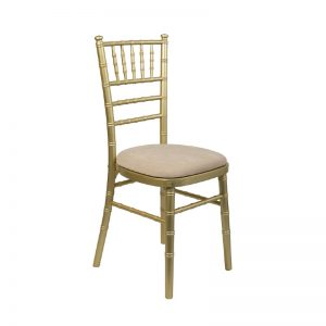 Gold Chiavari Chair to hire