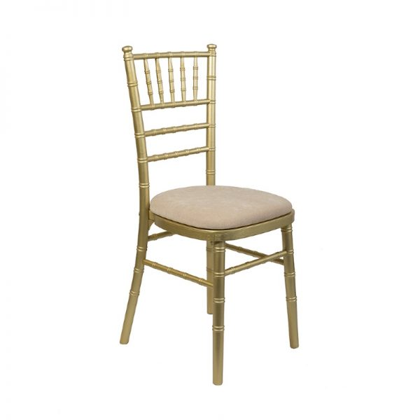 Gold Chiavari Chair to hire