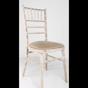 Chiavari Limewash Chair hire