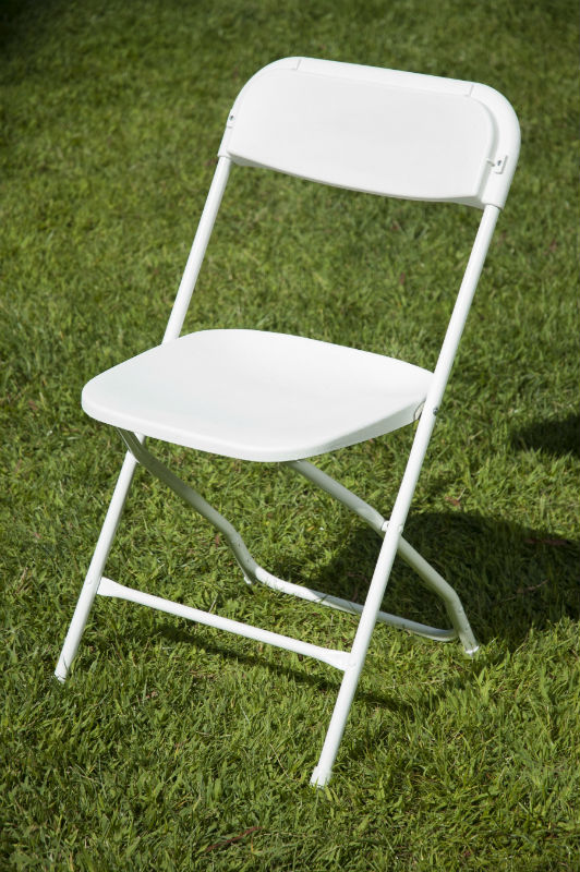 White folding chair hire dublin