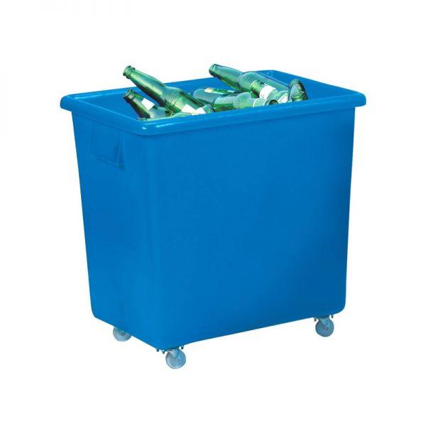 blue bottle bin