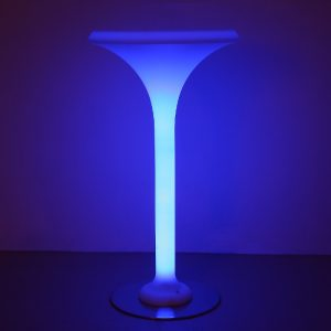 led champagne table