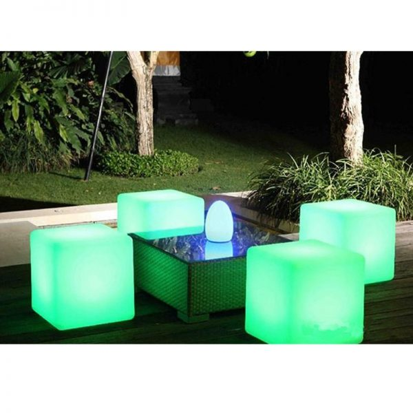 light upped cube seat