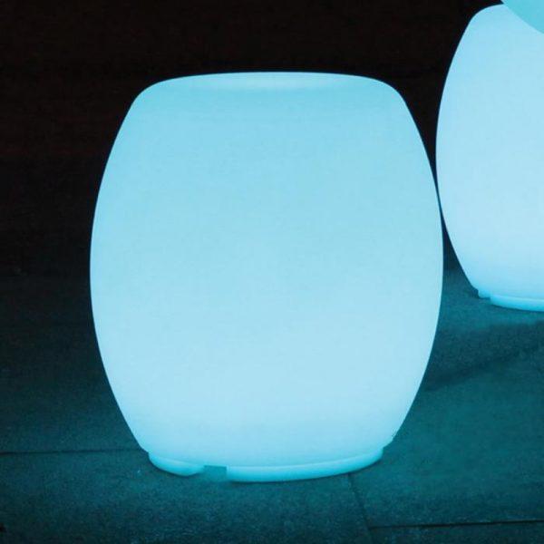 led barrel table