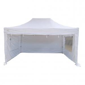 White Gazebo Tent Hire 3m x 4.5m